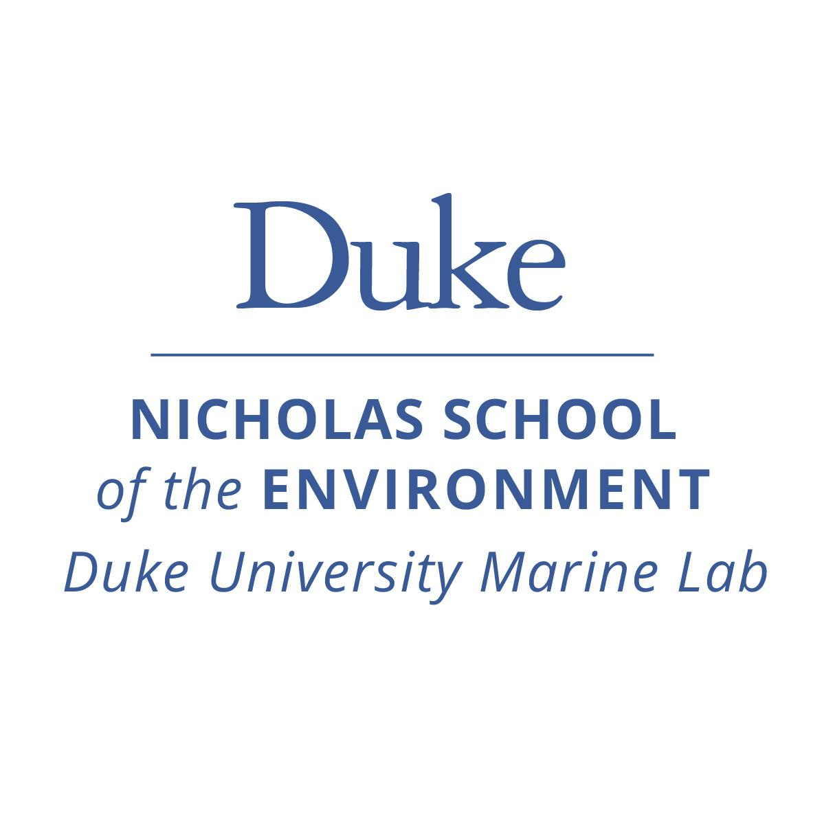 Duke Nicholas School of the Environment Marine Lab