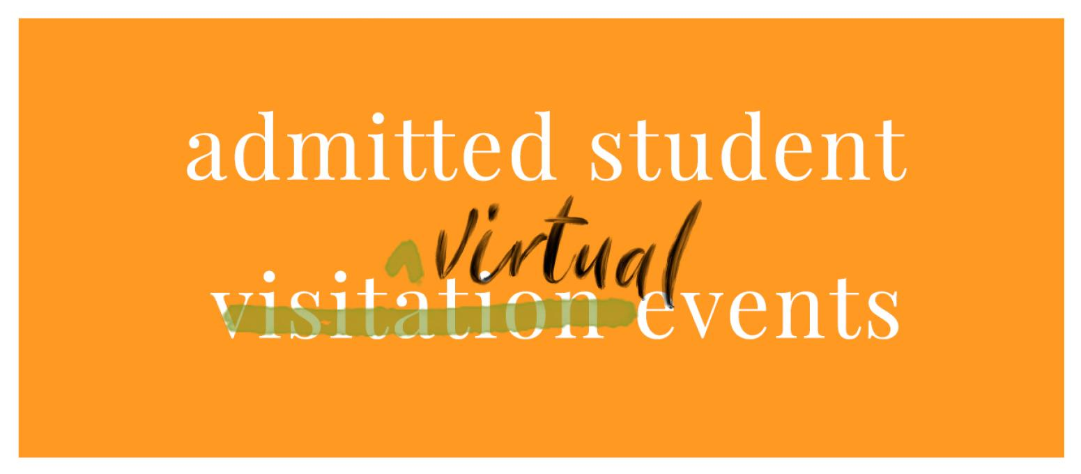 admitted students virtual events