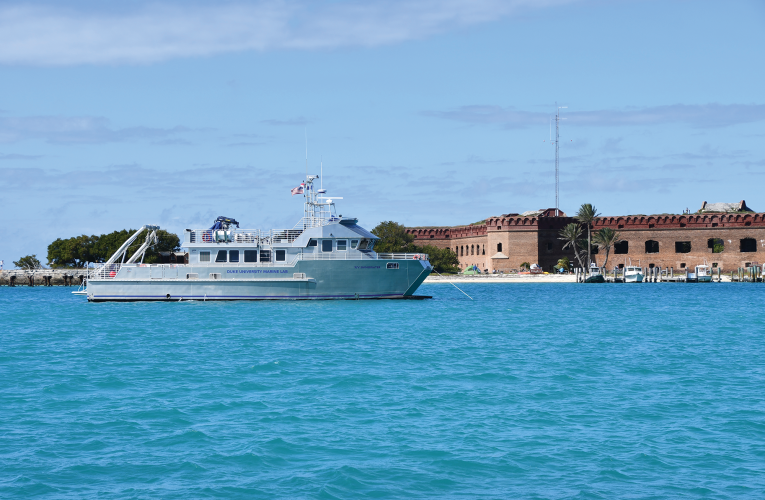 RV Shearwater in Dry Tortugas