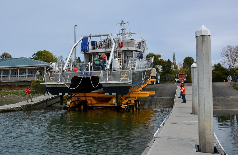 RV Shearwater Launch