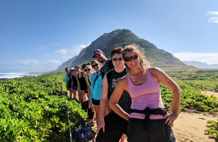 Dave Johnson travel course Hawaii_Ka_ena Point