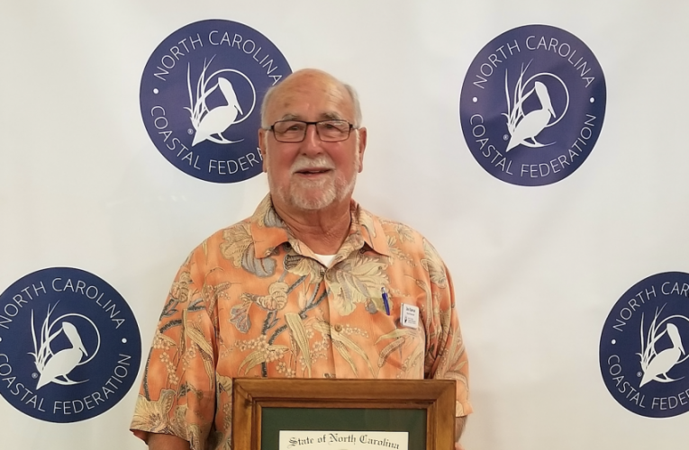Joseph S. Ramus, professor emeritus at Duke's Nicholas School of the Environment has been awarded the Order of the Longleaf Pine.