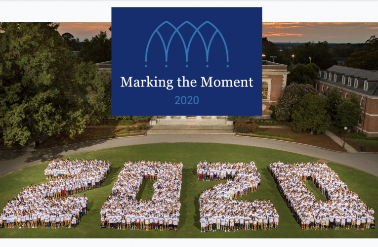 Class of 2020 photo with MTM Logo
