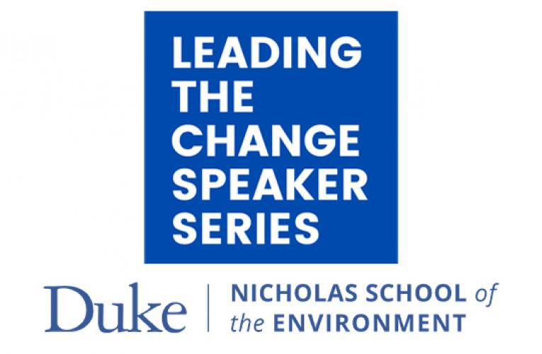 Leading the Change speaker series