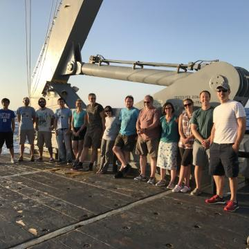 Cassar Lab group at sea