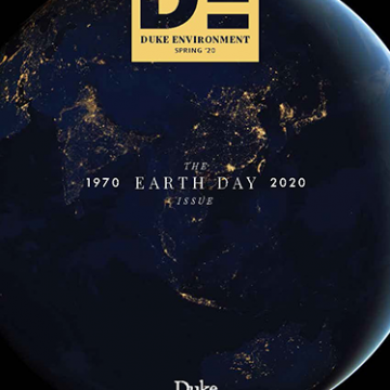 Spring 2020 - 50th Anniversary Earth Day - magazine cover thumbnail